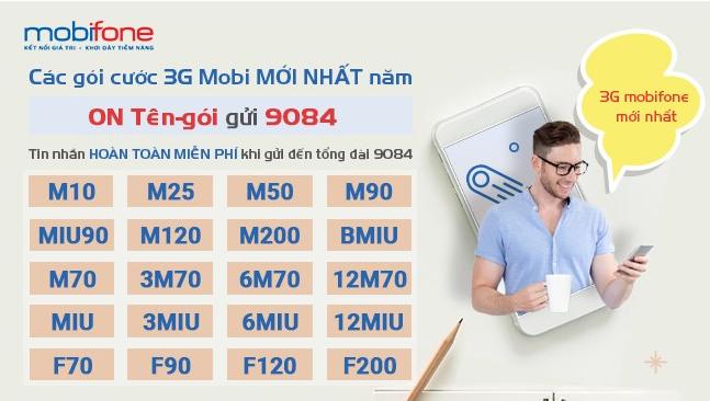 3G cho Mobi