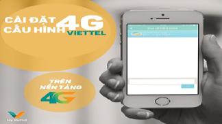 Cách cài đặt cấu hình 4G Viettel đơn giản cho người mới