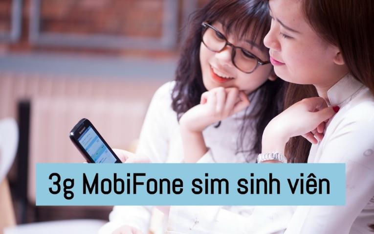 đăng ký 3g mobifone sim sinh viên