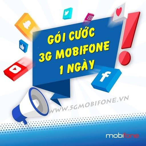 gói cước 3g của mobifone