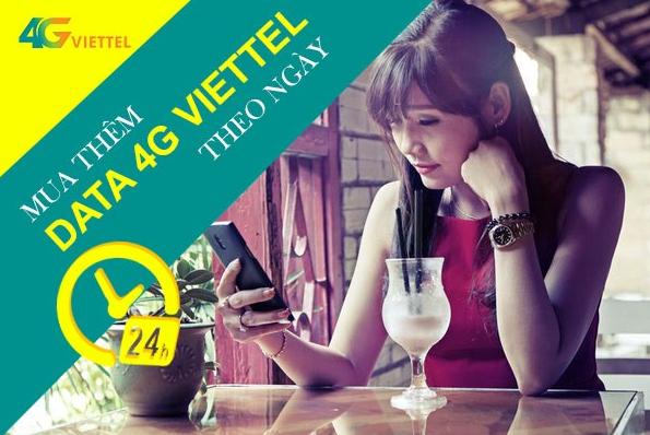 Gói mua thêm data Viettel